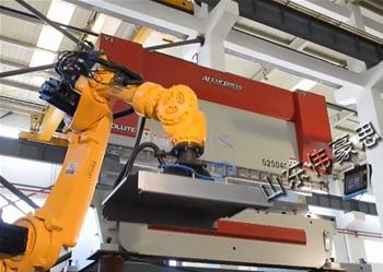 电子零部件机器人折弯机