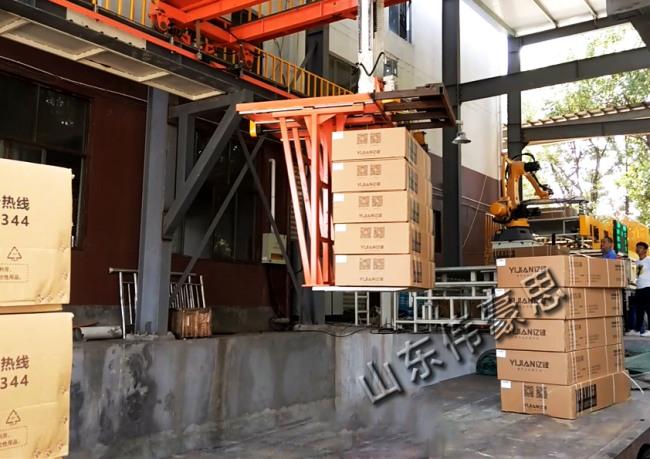 长箱全自动桁架式装车机