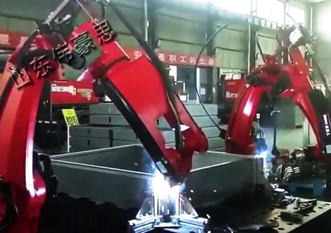 双工位自动焊接机械手