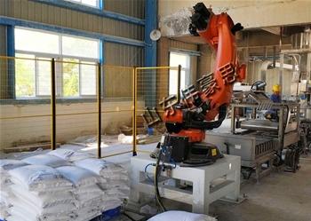 袋装化肥拆垛机器人