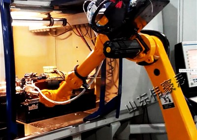 企业选购数控车床上下料机器人主要原因