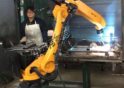 全自动管材焊接机器人怎样保证焊接质量?