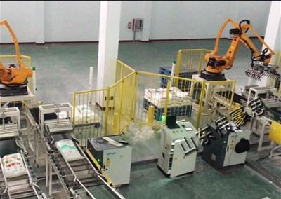 为什么企业会采购自动化肥包装亚博体育苹果手机下载机器人