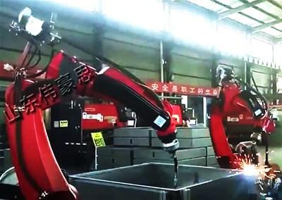 铝合金自动焊接机器人有哪些分类?