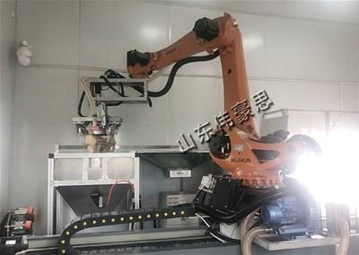 化工粉自动拆垛拆包机为企业的自动化生产锦上添花