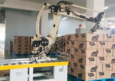 企业拆垛为什么要选择箱子视觉拆垛机器人?