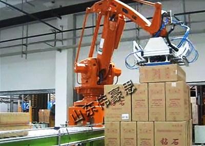全自动箱料拆垛机器人的先进技术