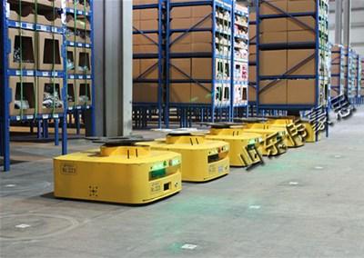 智能AGV搬运机器人能给我们带来哪些惊喜和意外