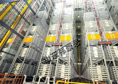 箱装食品立体仓库的结构