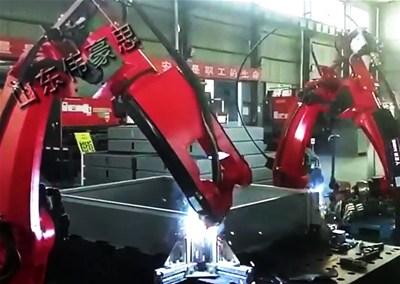 怎样给不锈钢自动焊接机械手降温