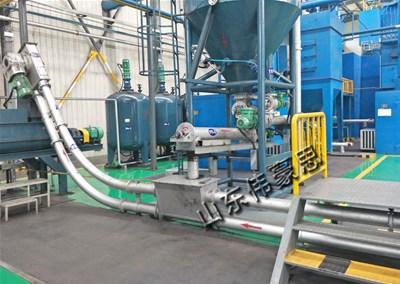 管链式输送机的设计能避免腐蚀性物料的损害