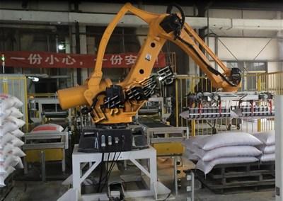 肥料自动亚博体育苹果手机下载机器人能确保企业高质高产