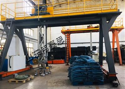 袋料全自动装车机串联起整个卸料包装装车生产线