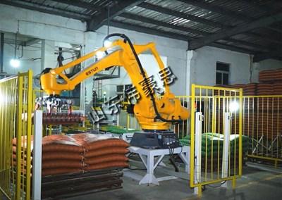 粉体亚博体育苹果手机下载机器人的使用能降低企业成本提高生产效率