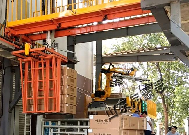 自动桁架式装卸车系统