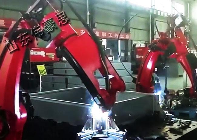 双工位自动焊接机