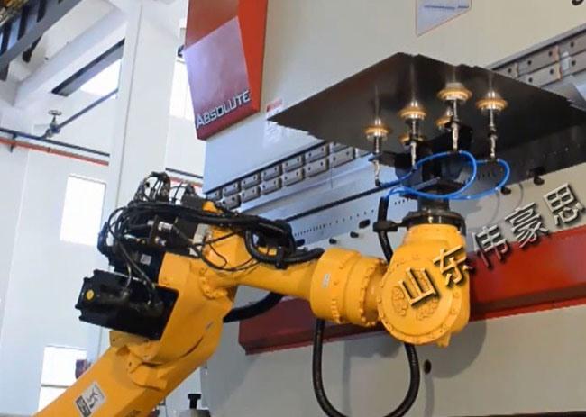 机器人折弯机