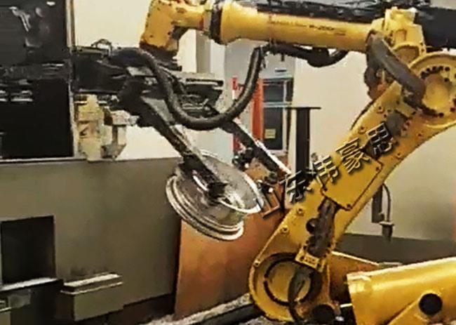 全自动机床上下料机器人
