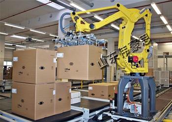 纸箱吸盘式亚博体育苹果手机下载机器人